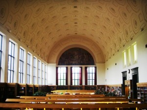 University of Michigan Hatcher Library Reference Room